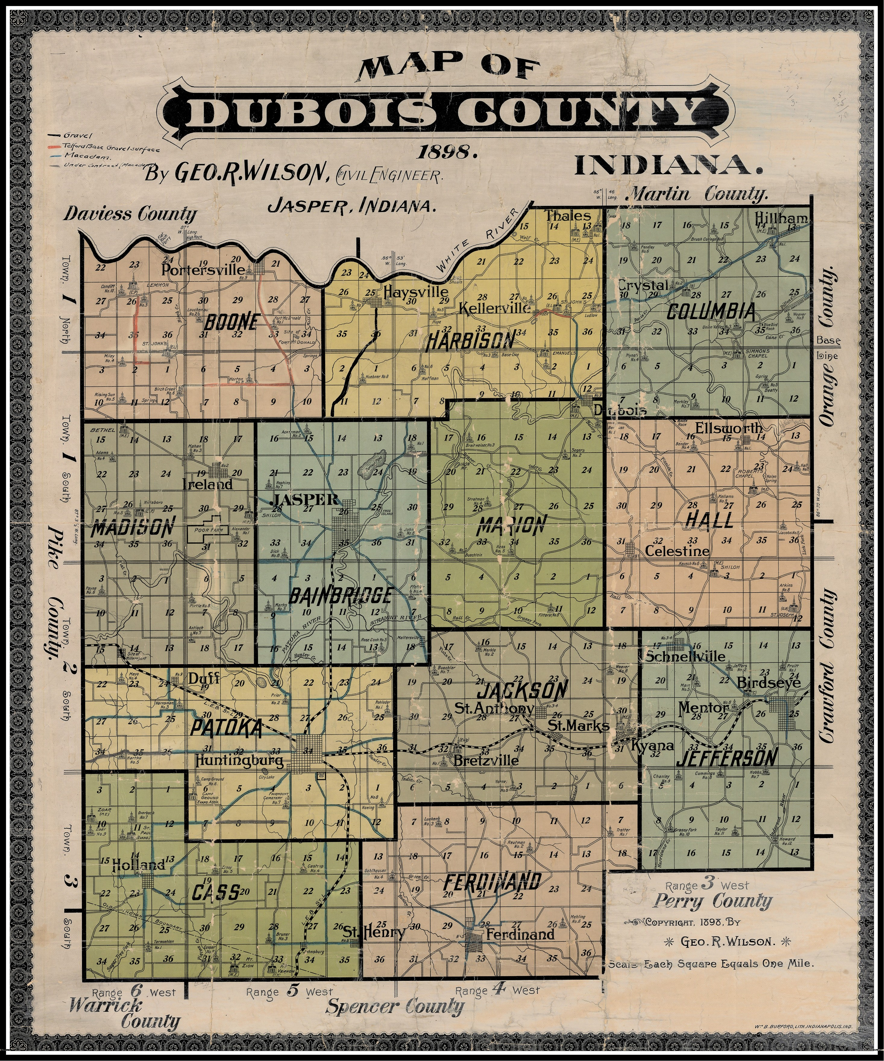 dubois county Breadcrumbs library collections & services collections indiana collection indiana county maps, atlases, and plat books current:  dubois county maps dubois county maps county maps.