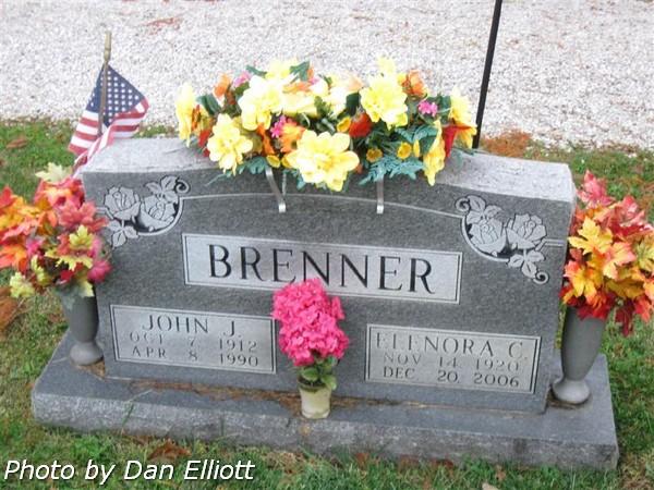 wife of john j brenner