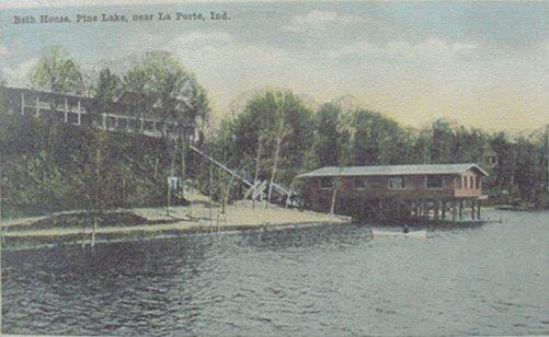 Bath House Pine Lake LaPorte
