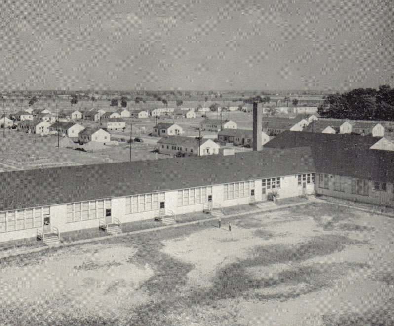 Kingsford Heights during the war years