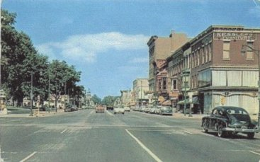 Lincolnway about 1940