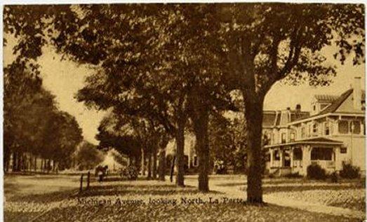Mich. Ave LaPorte 1912