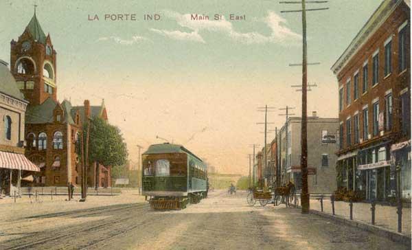 1900 street car