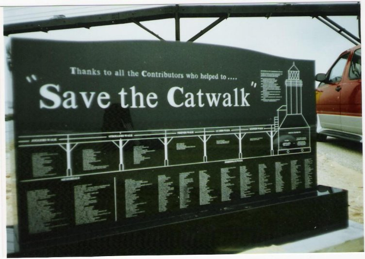 Save The Catwalk Monument
