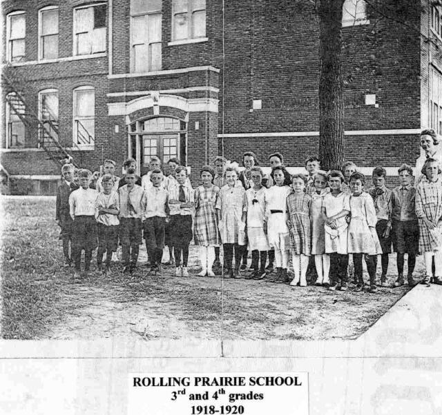 RP School 1918 to 1920