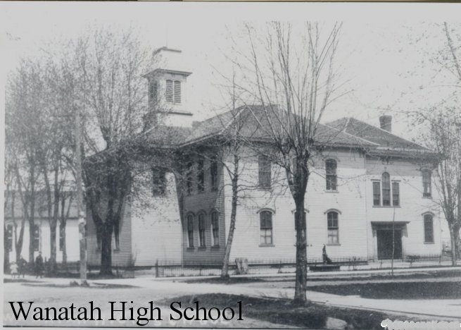 Old Wanatah High School