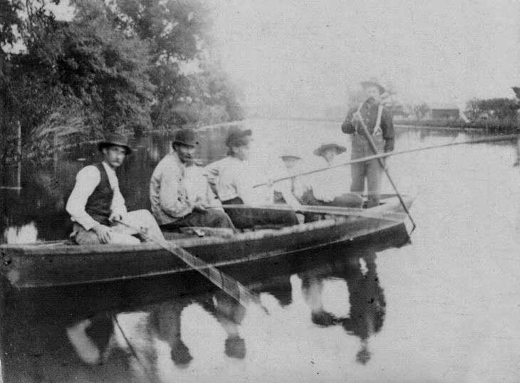 Men in Fishing Boat