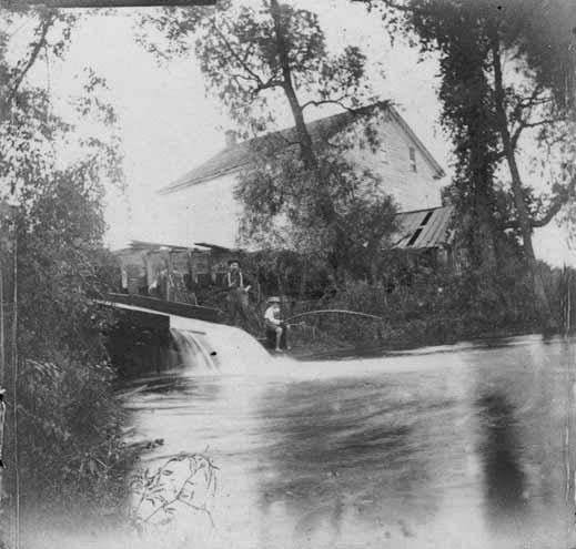 Pond at Union Mills