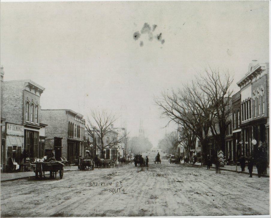 Franklin Street circa1870