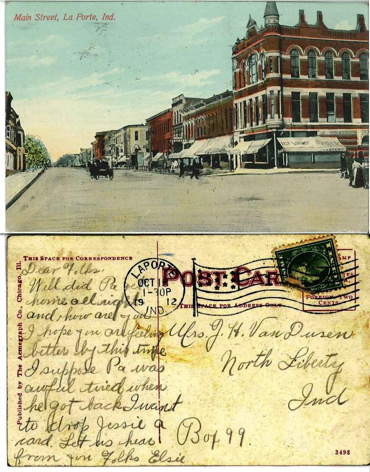 1912 Main Street LaPorte