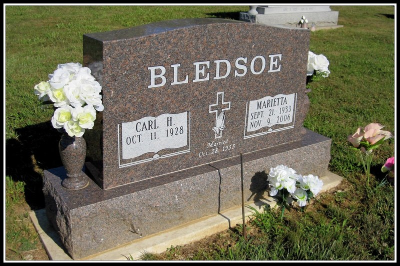 Dyer County TNGenWeb: Bledsoe Cemetery