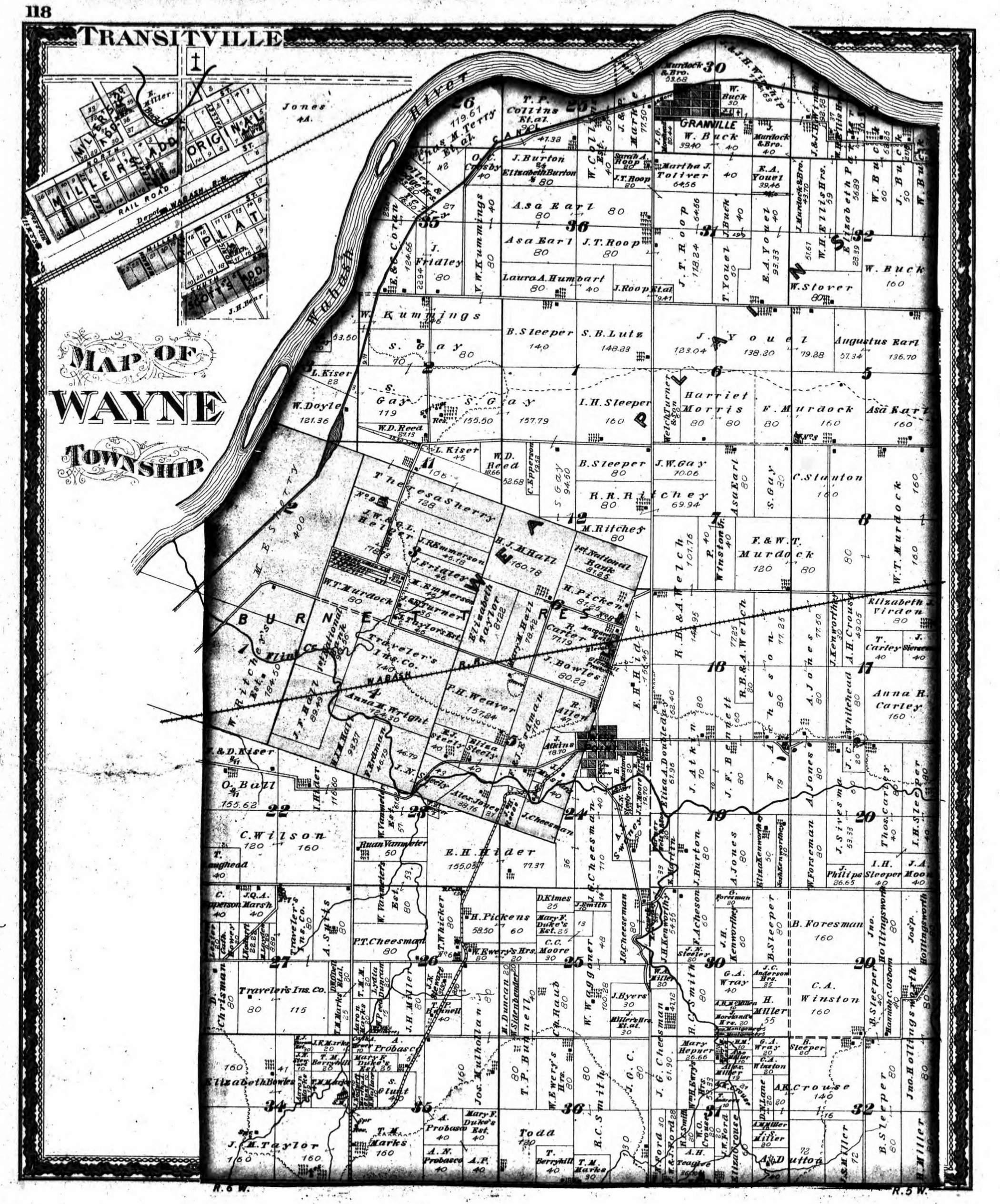 Tippecanoe County Indiana Maps