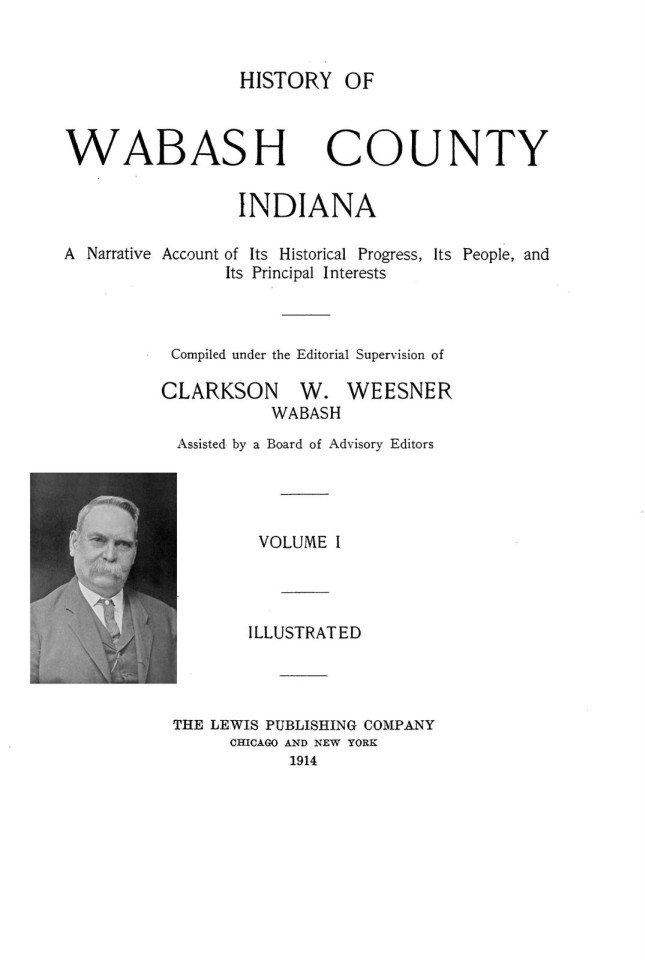 1914 WabCo History - front
